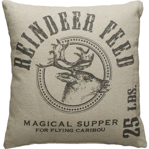 Reindeer Feed Pillow