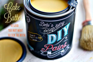 DYI Cake Batter Paint