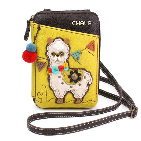 Llama Wallet Crossbody Bag
