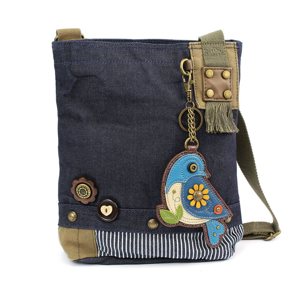 Bluebird Denim Patch Crossbody