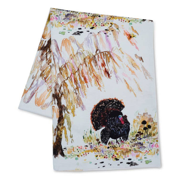 Betsy Olmsted Turkey and Willow Table Runner