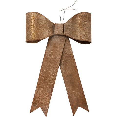 Hanging Rustic Metal Bow