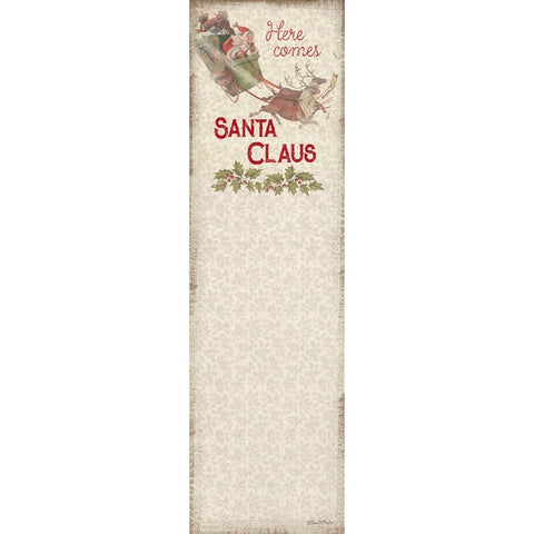 Here Comes Santa Claus Notepad