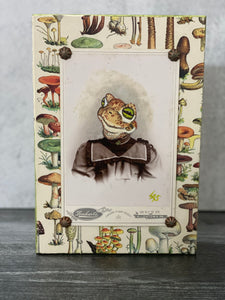 Hand-painted Whimsical Frog Photograph