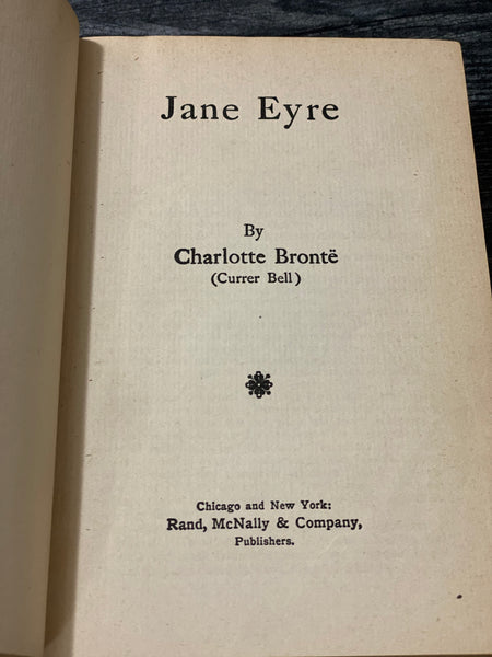 Vintgae Copy of Charlotte Bronte Jane Eyre