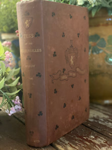 Thomas Hardy Tess of the D'urbervilles 1892 Vintage Edition