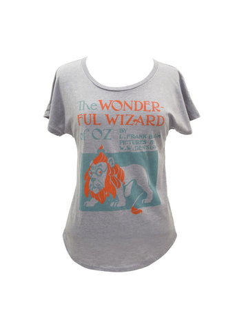 Wizard of Oz Out of Print  Ladies T-shirt Large