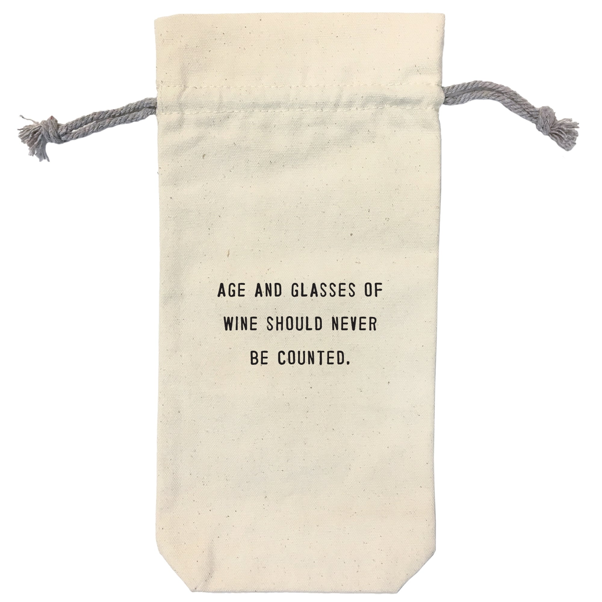 Wine Bag with Humorous Quote