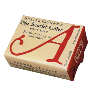 Hester Prynne's The Scarlet Letter Body Soap