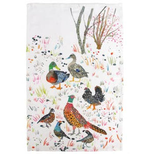 Betsy Olmsted Bird Tea Towel