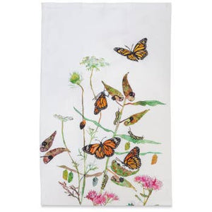 Betsy Olmsted Monarch Tea Towel