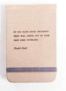 Roald Dahl Fabric Notebook