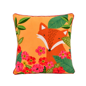 Karma Garden Fox Pillow