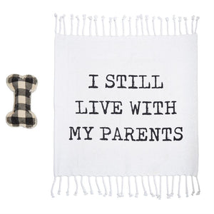 Parents Dog Blanket and Toy Set
