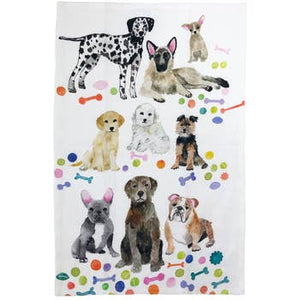 Betsy Olmsted Dog Tea Towel