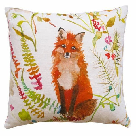 Betsy Olmsted Fox Pillow