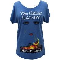 Ladies Great Gatsby Out of Print T-Shirt