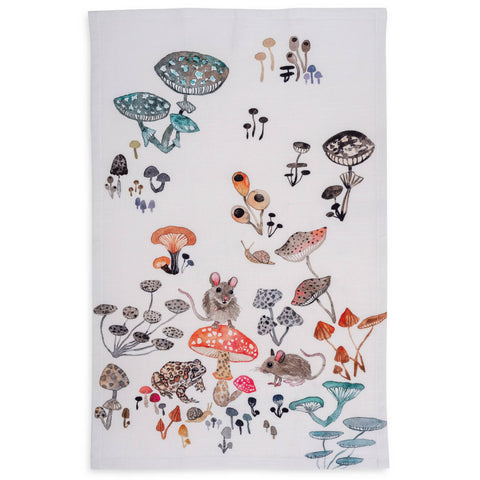 Betsy Olmsted Field Mice Tea Towel