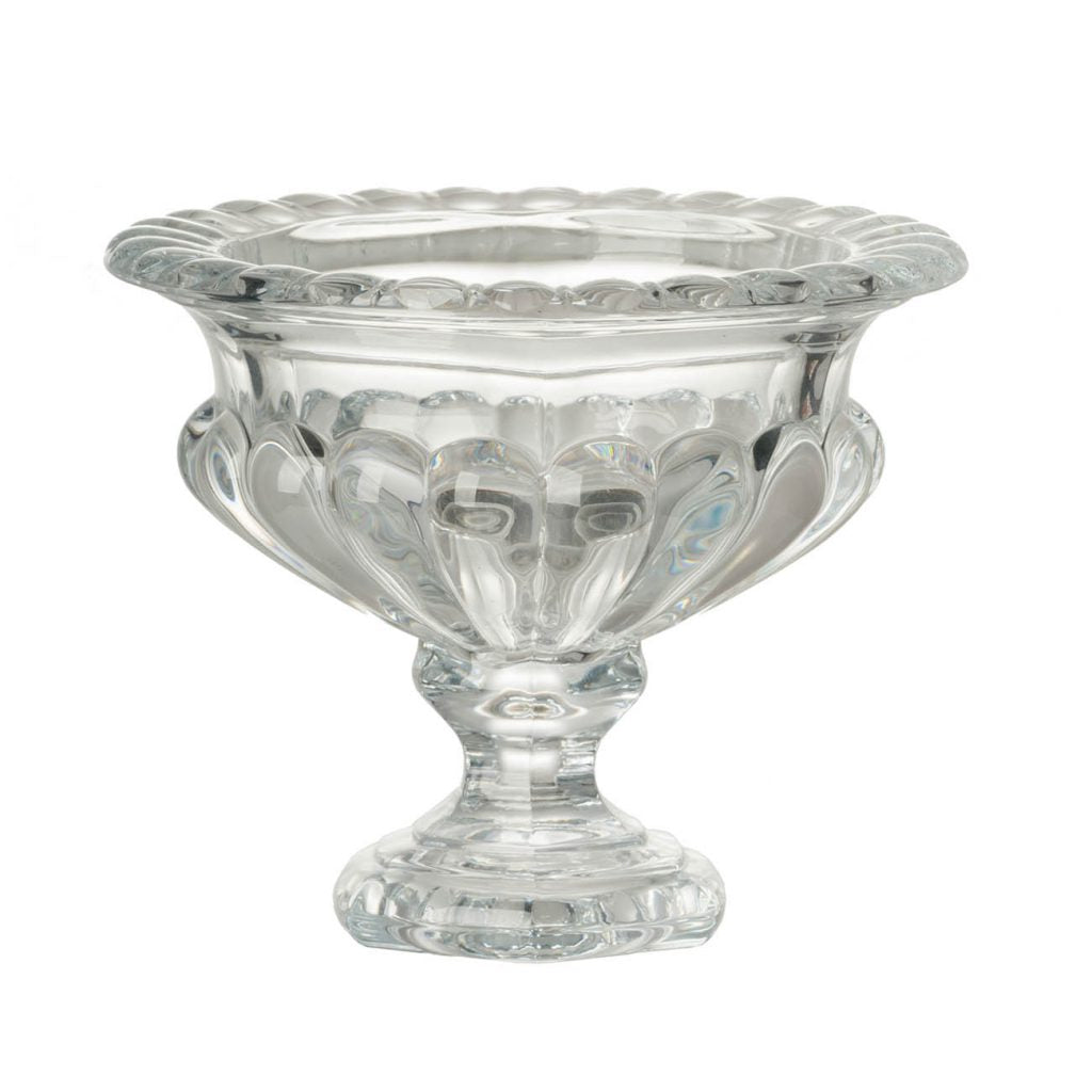 Large Omari Crystal Bowl