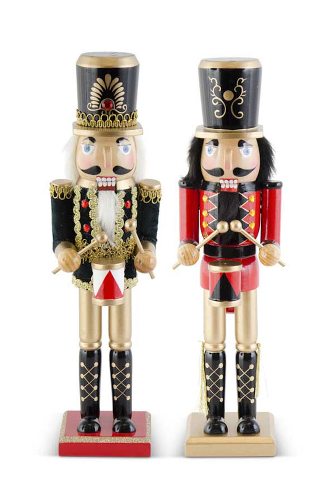 Set of 2 Hat Nutcrackers