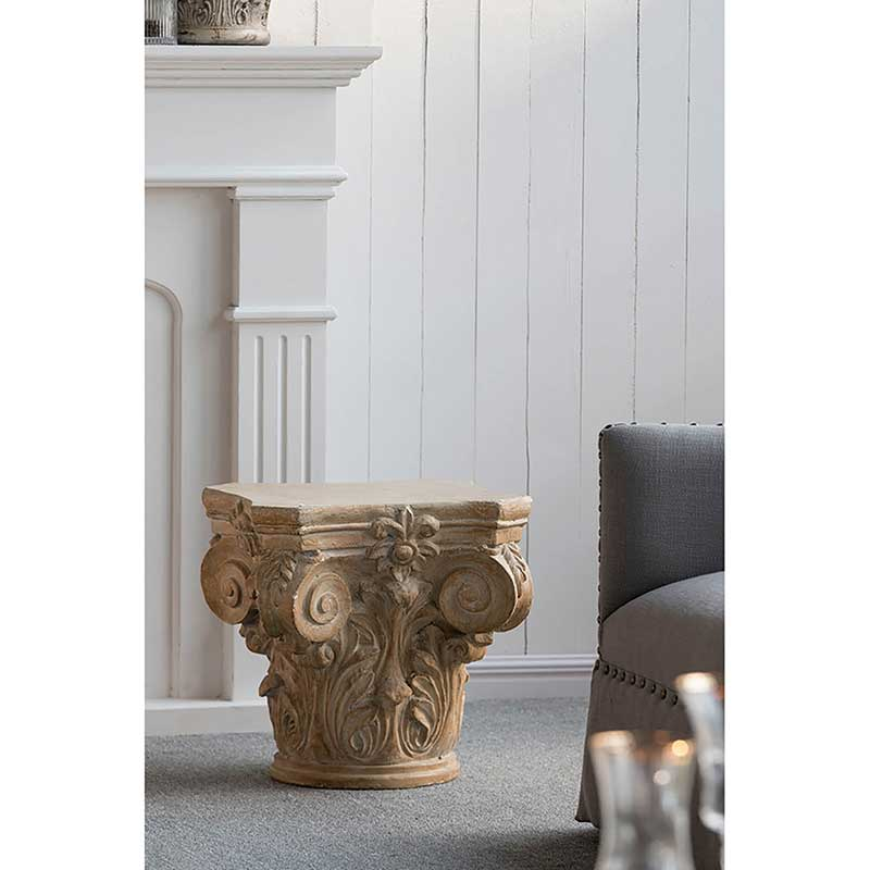 Large Column Cap Pedestal