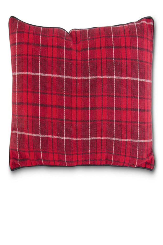 Plaid Square Pillow