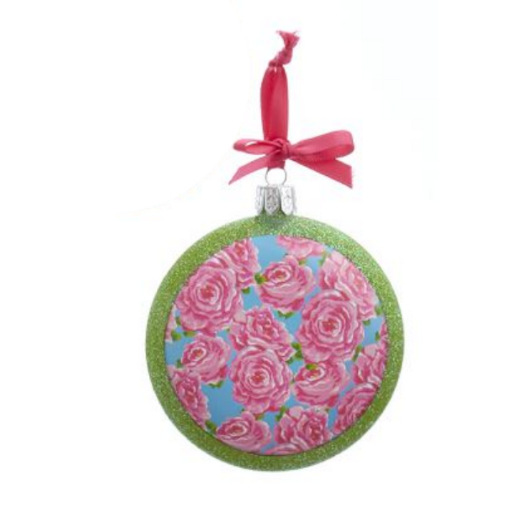 Preppy Disc Ornament