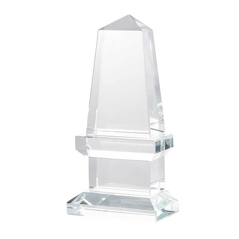 Modern Glass Bookend