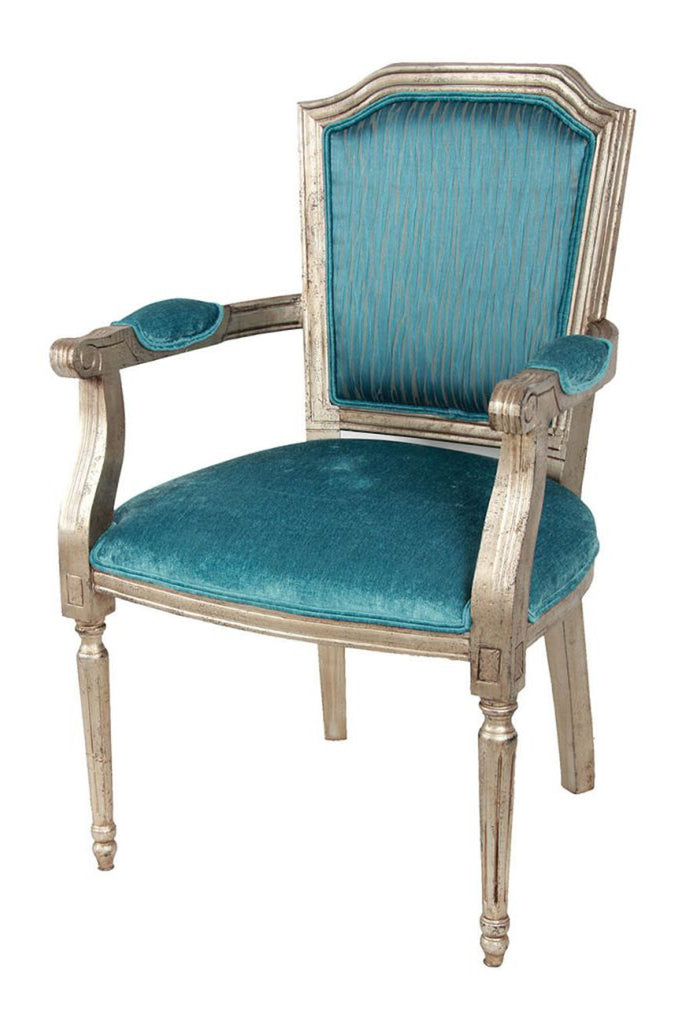 Glam Turquoise Chair