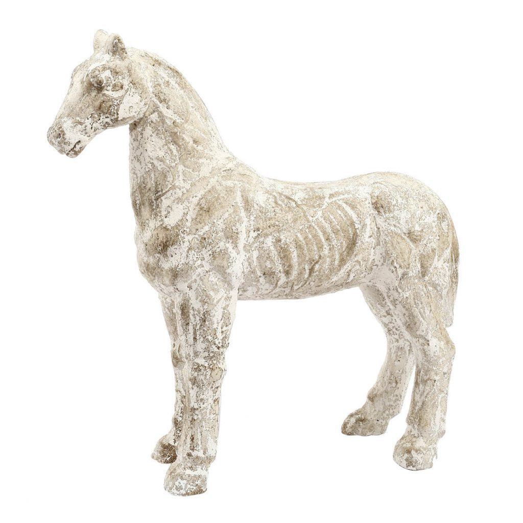 Distressed Horse Statue
