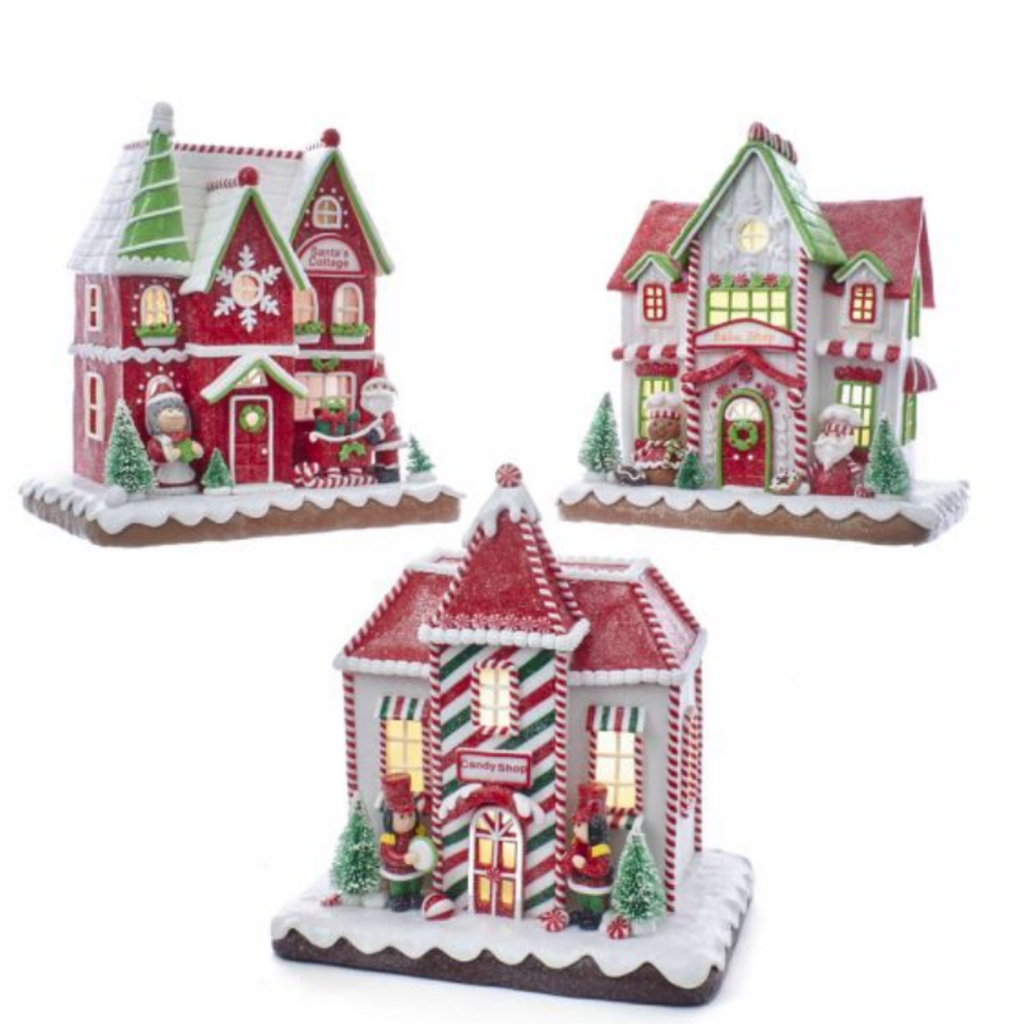 "9"" Gingerbread House"