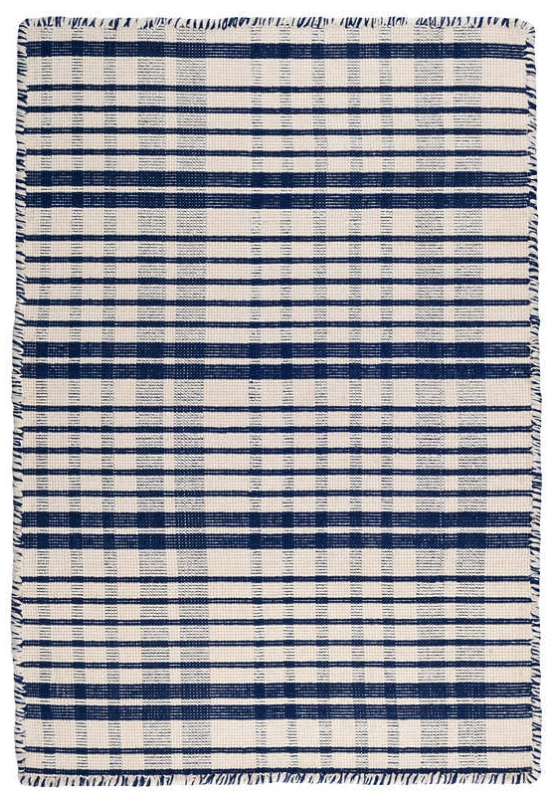 Guilford Navy Cotton Rug