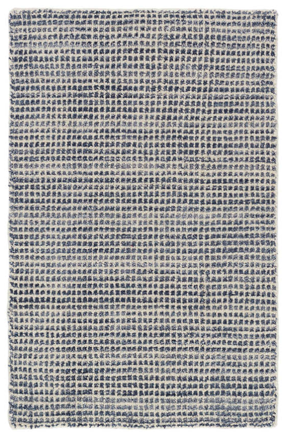 Homer Blue Loom Knotted Rug