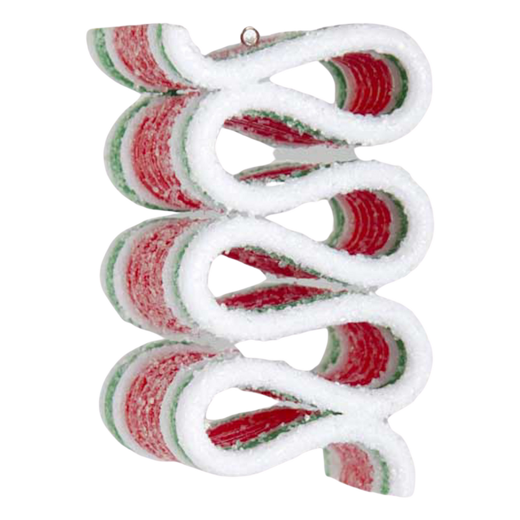 Set 3 Ribbon Candy Ornament
