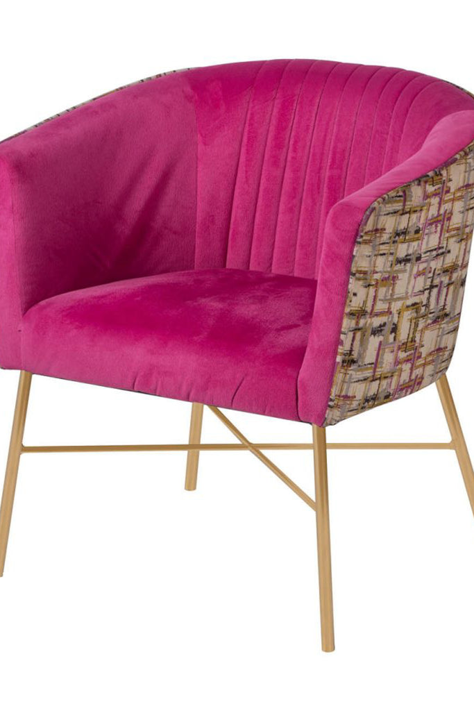 Chic Pink Chair