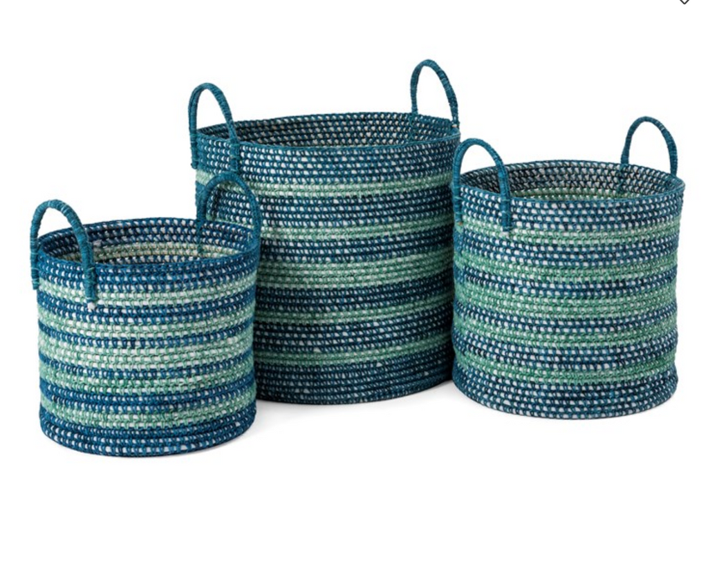 Set of 3 Cottage Baskets