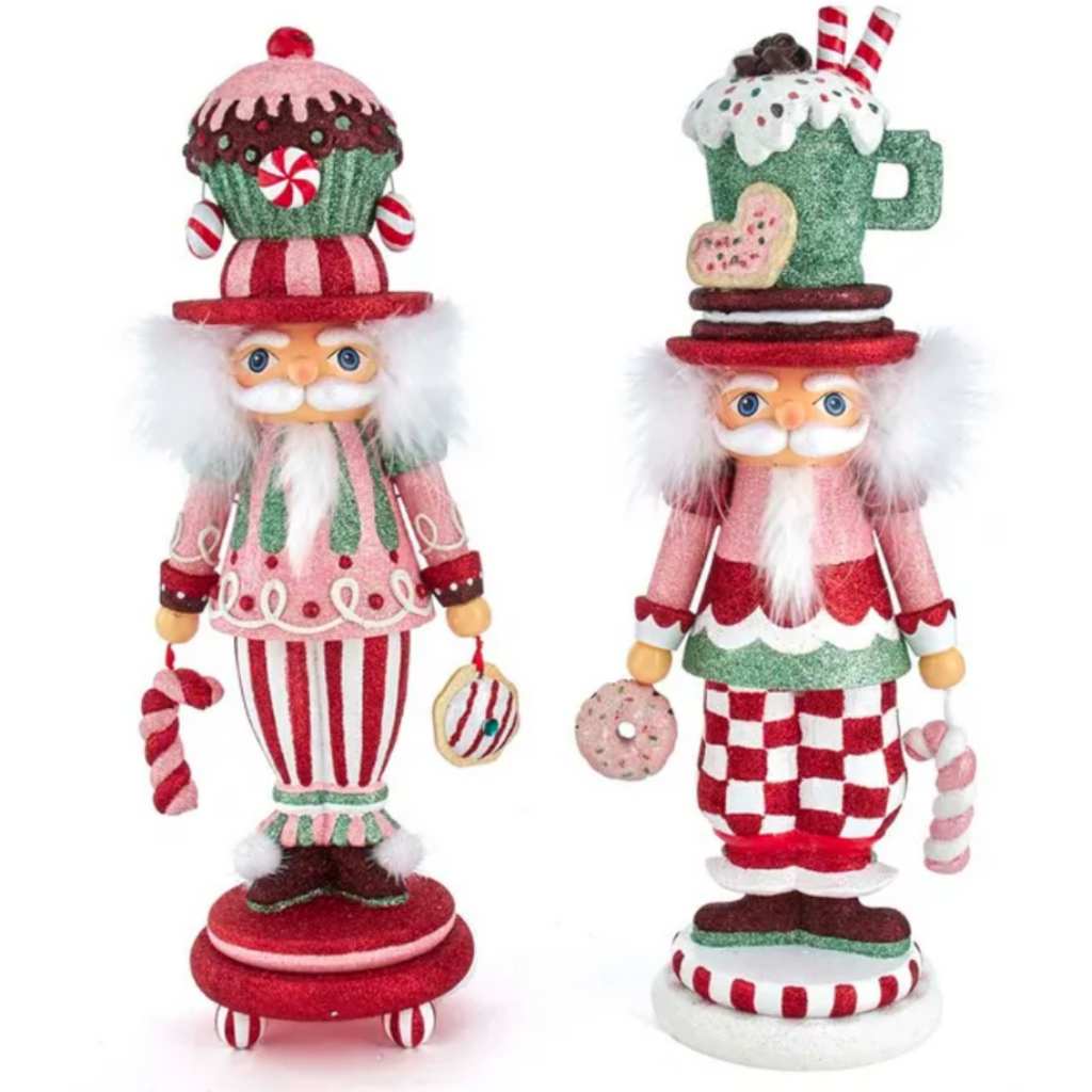 Candy Pattern Nutcracker