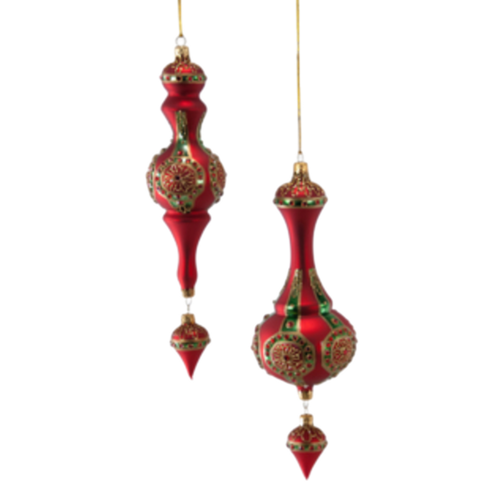 Floral Medallion Finials