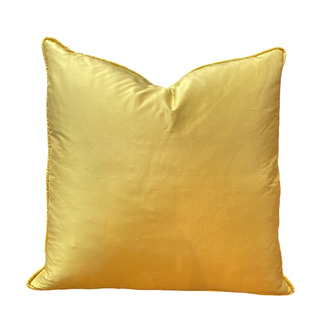 Silk Chartreuse Pillow