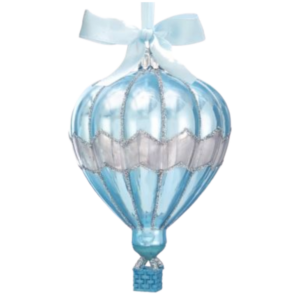 Blue Balloon Ornament