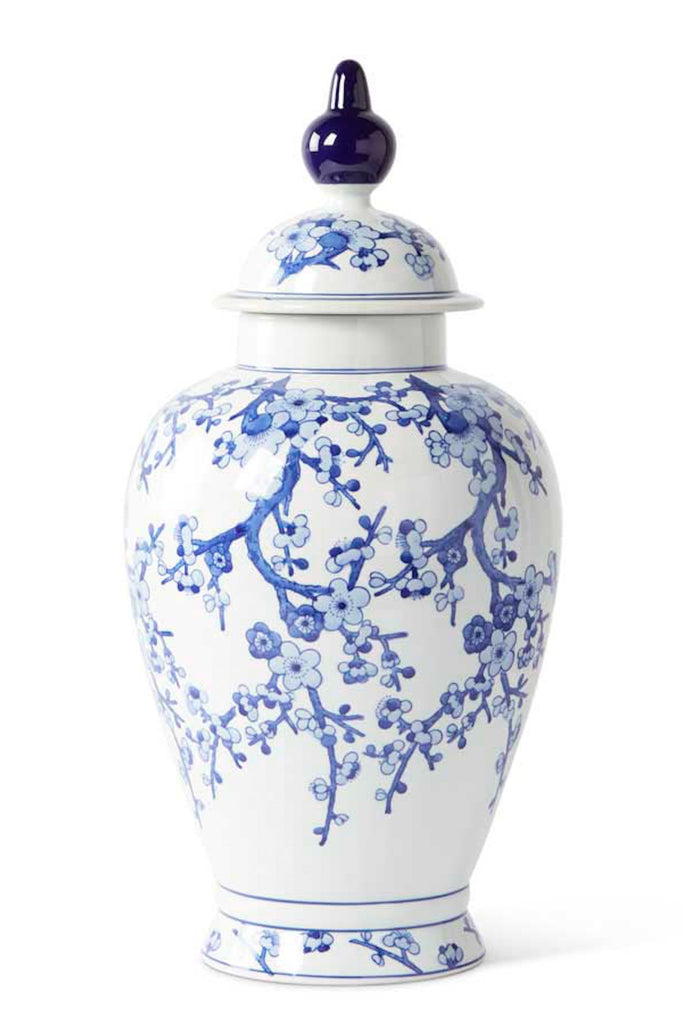 "24"" Chinoiserie Ginger Jar"