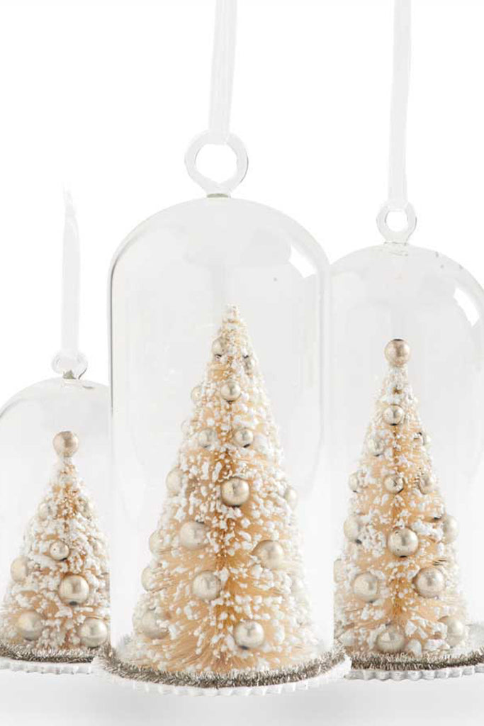Set of 3 Trees in Glass Domes