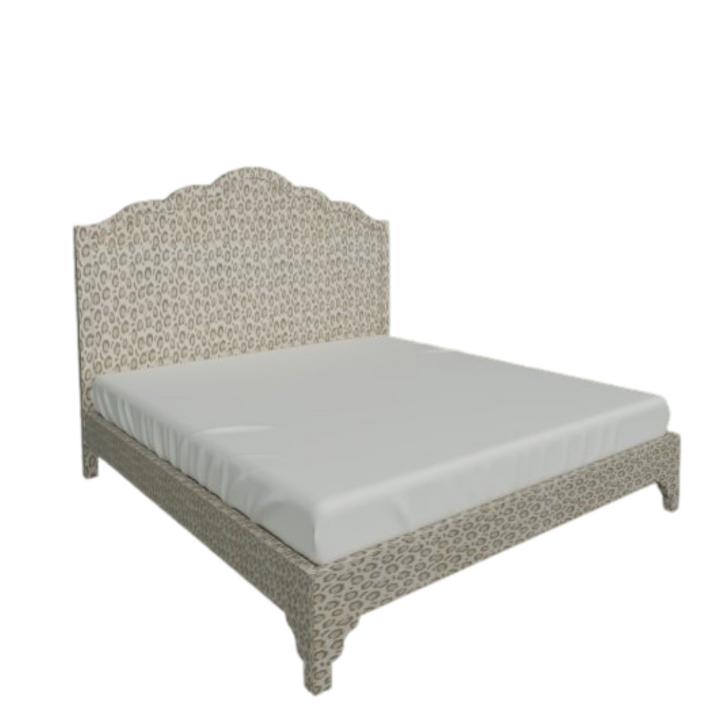 Lucy Custom King Bed
