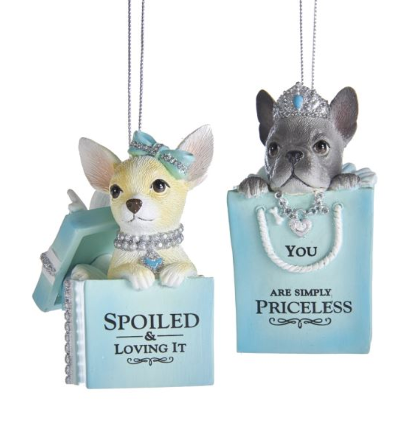 Puppy Ornaments