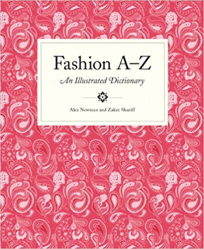 Fashion A-Z Book