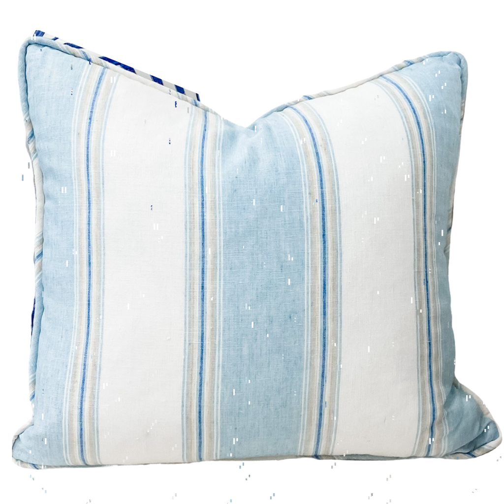"Savannah Stripe 20"" Pillow"
