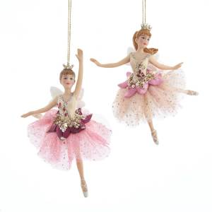 Pink & Blush Fairy Ornaments