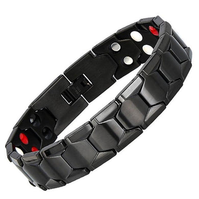 Bennett Men Magnetic  Stainless Steel Therapy Bracelet