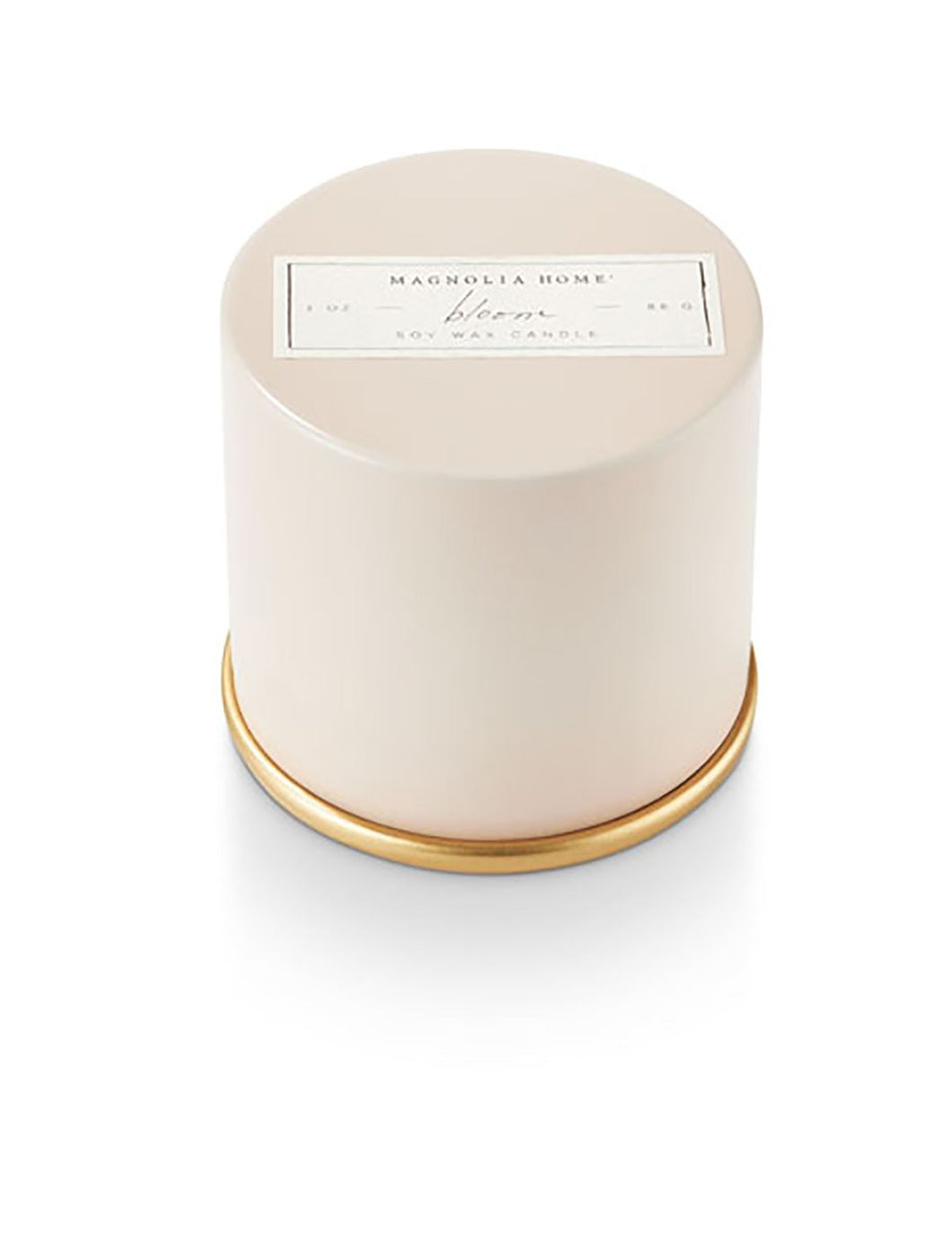 Magnolia Home Bloom Tin Candle