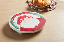 Load image into Gallery viewer, Santa Wood Trivet